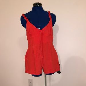 Beautiful red romper for sale!